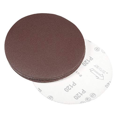 7-inch sanding disc 120-grit sandpaper for 10-piece sander