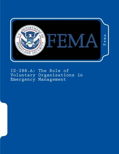 IS-288.A: The Role of Voluntary Organizations in Emergency Management