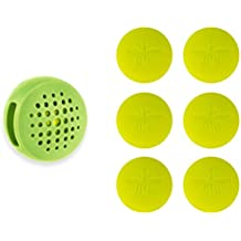 Not In My Backyard Silicone Clip with 6 refills Insect Repellant NB0101