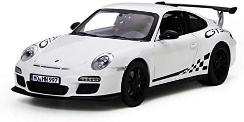 YN モデルカー 1:18ポルシェ911GT3 RS 2010スポーツカーオリジナルコレクションシミュレーション合金カーモデル ミニカー (Color : White)