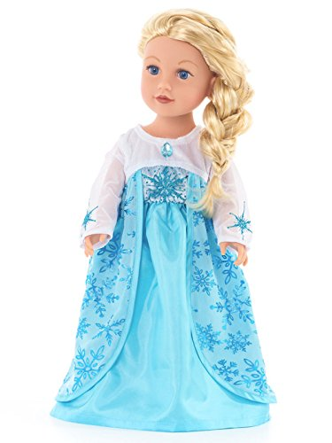 little adventures elsa dress - 4