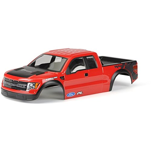 Pre Painted Body - PROLINE 334815 Ford F-150 SVT Raptor Body Pre-Cut/Pre-Painted (Red)