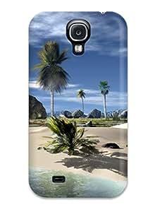 New Premium Flip Case Cover Hds Skin Case For Galaxy S4