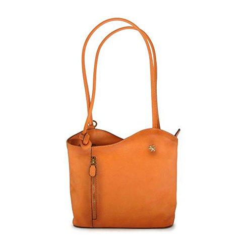 Naranja Shoulder Leather Small Bag Consuma Bruce Cow In Pratesi FTxUZZpw