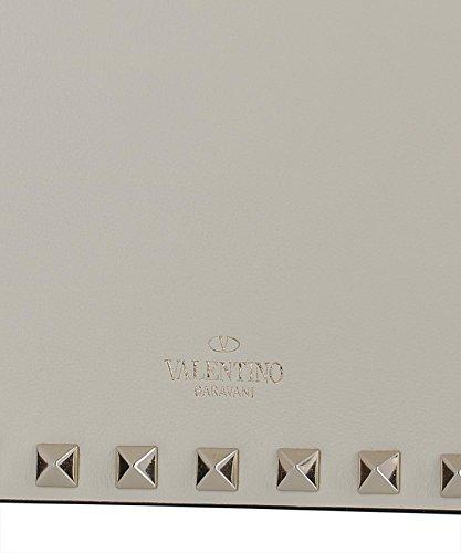 Valentino Pochette Donna PW2P0249B0LI16 Pelle Bianco