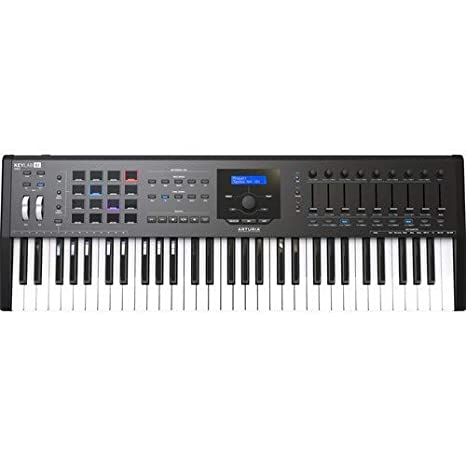 Amazon.com: Arturia KeyLab MKII 61 - Controlador y software ...