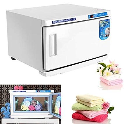 Esterilizador UV, 2 en 1 profesional Esterilizador de toallas, gabinete de esterilizador incorporado con