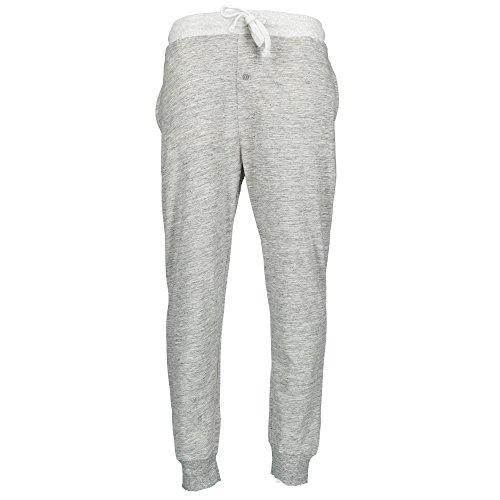 Hanes Men's Elastic Waist Jogger Style Dorm Pant, XL, Grey