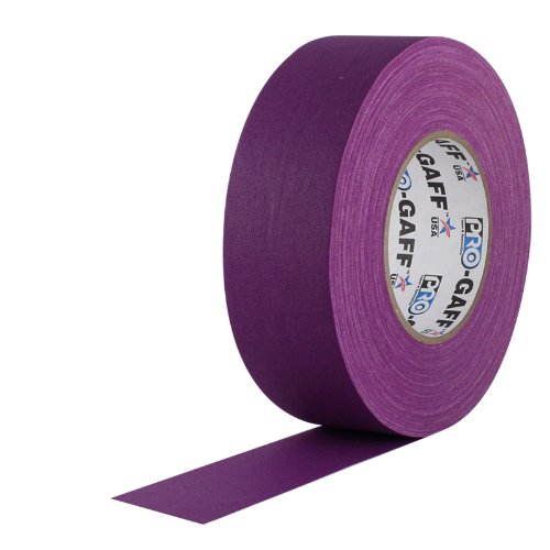 11 mils Thick Teal 1 Width ProTapes Pro Gaff Premium Matte Cloth Gaffers Tape With Rubber Adhesive Pack of 1 55 yds Length