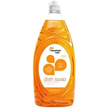 Mountain Falls Ultra Concentrated Dish Soap and Antibacterial Handsoap, Orange Scent, Compare to Dawn, 40 Fluid Ounce