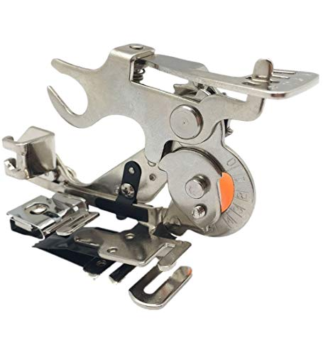 Ruffler Attachment Foot - Wefond 1 pcs Ruffler Sewing Machine Attachment Presser Foot for Low-Shank Brother, Singer, Babylock, New Home, Kenmore,Janome,White, Juki, Simplicity Sewing Machines