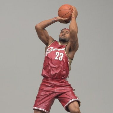 LEBRON JAMES / CLEVELAND CAVALIERS * RED JERSEY * McFarlane 6 Inch NBA SERIES 13 Sports Picks Action ()