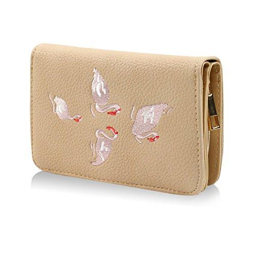 Bourse 25043 Porte Portefeuille Glamexx24 Motif Avec Style Vintage Beige Étoile monnaie FYqBzWpw