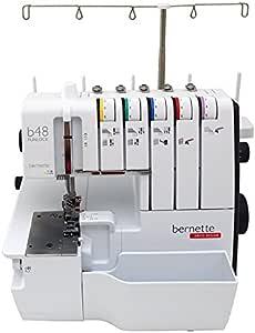 Bernette b48 Funlock Serger Coverstitch máquina de coser: Amazon ...