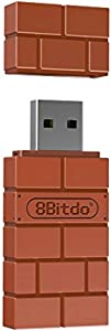 8Bitdo Wireless Bluetooth Adapter for Nintendo Switch, Windows, Mac, & Raspberry Pi