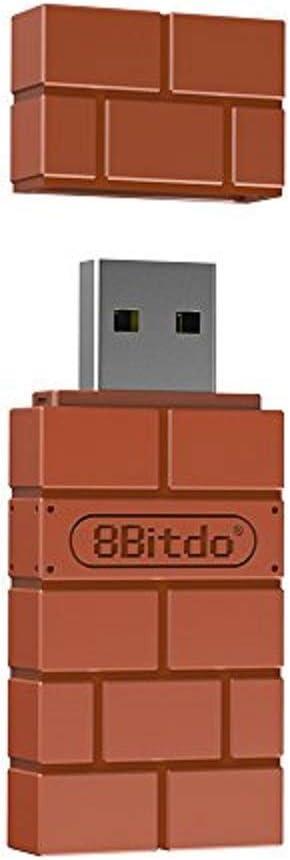8Bitdo RET00102 Tarjeta y Adaptador de Interfaz Bluetooth - Accesorio (USB Tipo A, Bluetooth, Café, Android, 50 g, 130 mm): Amazon.com.mx: Videojuegos