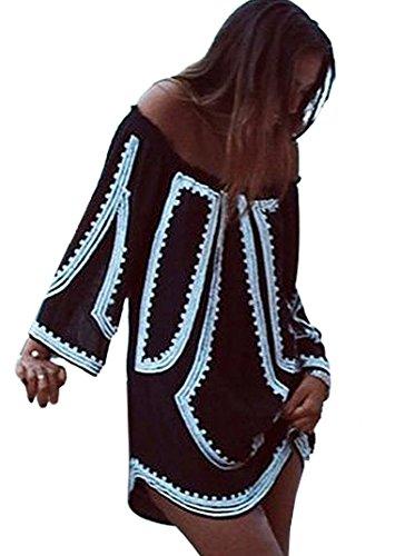 Yonala Womens Pattern Printed Shoulder product image