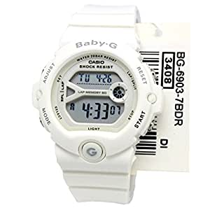 Casio Baby G Women BG6903-7B Year-Round Digital Automatic White Watch