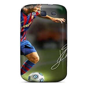 JonBradica Samsung Galaxy S3 Protector Hard Phone Cases Allow Personal Design High Resolution Lionel Messi Pattern [pid18899KEUl]