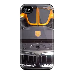 Case For Iphone 4/4S Cover Covers Yellow Ac Schnitzer Tension Concept Bmw Engine CasEco-friendly Packaging