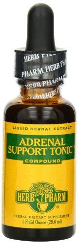 Supplément Herb Pharm surrénale soutien Tonic minérale, 1 once