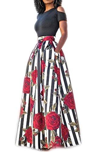 Women Print Shoulder Clubwear Pieces product image