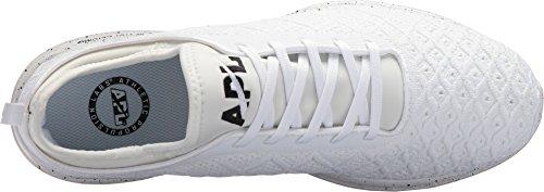 Apl: Laboratori Di Propulsione Atletica Mens Techloom Phantom Running Sneakers Bianco / Nero Maculato