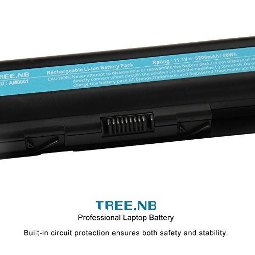 Laptop Battery for HP 484172-001 485041-001 498482-001 484170-001 HSTNN-LB72 HSTNN-UB72 HSTNN-CB72 484171-001 485041-001 HSTNN-Q34C, CQ40 CQ50 CQ60 CQ70 HDXX16 G60 G70 – High Performance Spare Power by Tree.NB (Image #1)