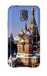 CaseyKBrown UZtVzyY7763PdCGE Case Cover Galaxy S5 Protective Case Red Square Russia