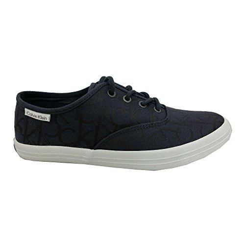 Calvin Klein - Zapatillas de Lona para hombre Azul azul 40