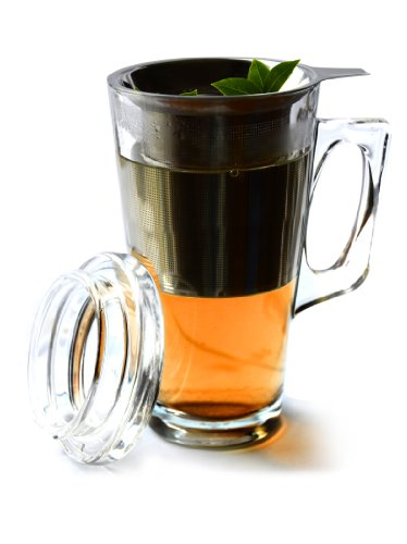 Asobu Tea Mug with Stainless Steel Infuser