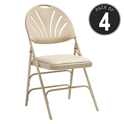 (Samsonite 51659-2899 Folding Chair, Neutral)