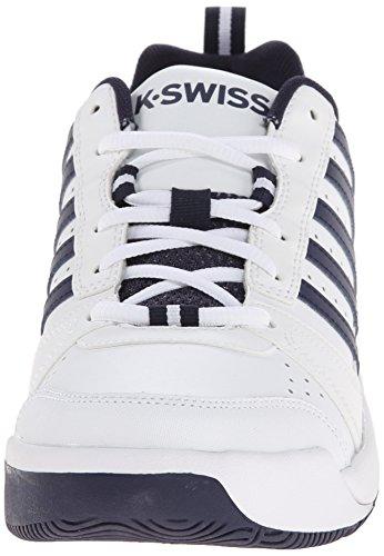 K-Swiss Performance Ks Tfw Vendy Ii-white/Navy-m - Zapatillas de tenis Hombre blanco - Weiß (White/Navy)