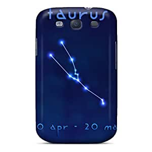Premium [uZU3610XwWs]taurus Case For Galaxy S3- Eco-friendly Packaging