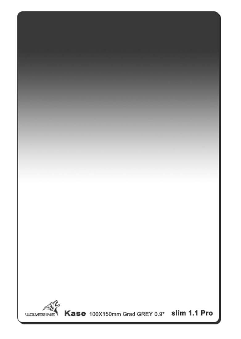 Kase Wolverine Slim 1.1mm Shockproof 100mm x 150mm Soft Grad ND0.9 Filter Neutral Density 3 Stop Optical Glass 100 150 ND
