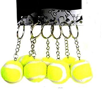 Lote/Conjunto de 6 Piezas - Llavero con Pelota de Tenis ...