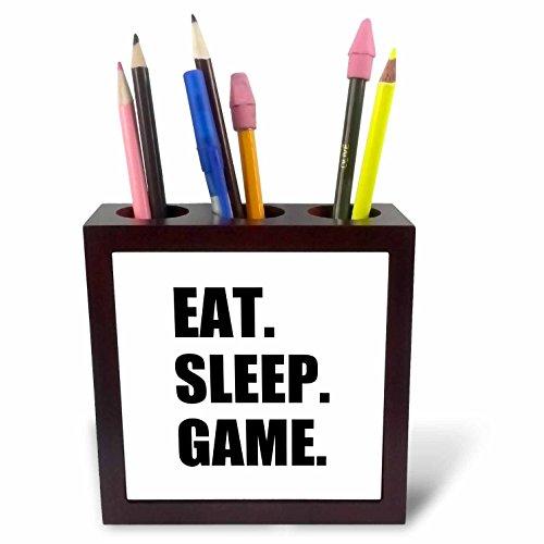 3dRose ph_180406_1 Eat Sleep Game Fun Gifts for Gamers Bl...
