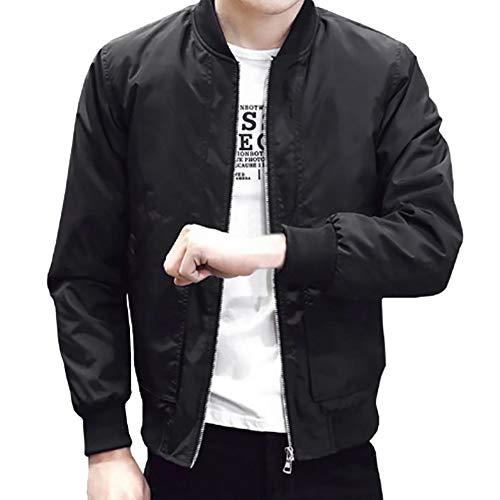 GoodLock Men's Fashion Slim Fit Zipper Coats Casual