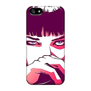 (eZEiY7518LZVCP)durable Protection Case Cover For Iphone 5/5s(pulp Fiction Mia)