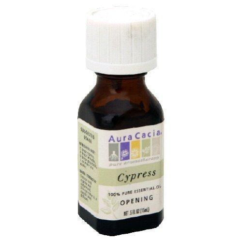 Price comparison product image Aura Cacia 100% Pure Essential Oil Cypress -- 0.5 fl oz by Aura Cacia