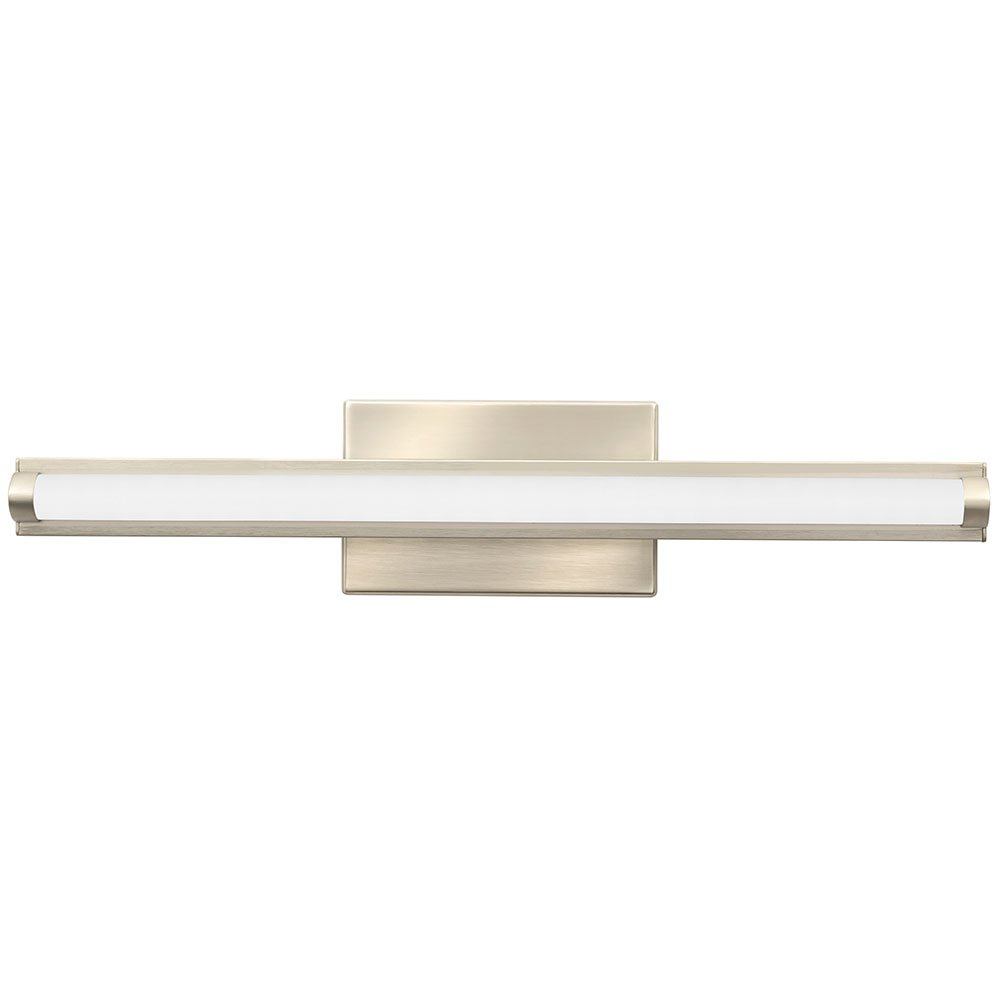 contemporary vanity lighting. lithonia lighting contemporary arrow 3k led vanity light 2foot brushed nickel amazoncom y
