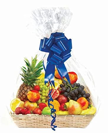 e24bf7574c44 Amazon.com  Clear Basket Bags