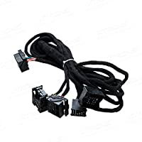 XTRONS 6M Wiring Lead Harness Adapter for BMW E38 E39 E46 E53 ISO Stereo Plug Adaptor