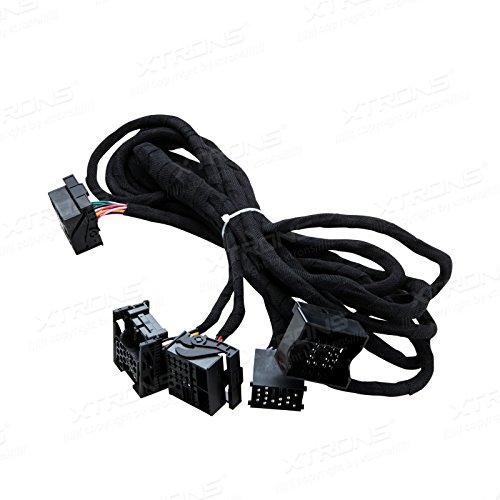 XTRONS 6M Wiring Lead Harness Adapter for BMW E38 E39 E46 E53 ISO Stereo Plug (Bmw E39 Amplifier)