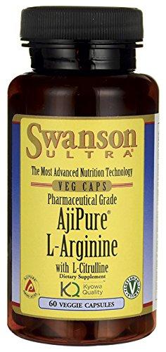 Ajipure L-Arginine avec L-Citrulline Veg 60 Caps
