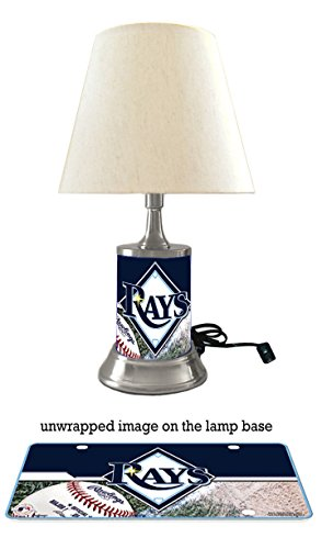 (JS Table Lamp with Shade, Your Favorite Team Plate Rolled in on The lamp Base, TBR)
