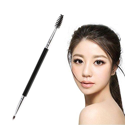 WEKA Professional Duo Eyebrow Brush - 2 in 1 Double Ended Eyebrow Makeup Cosmetic, 1X