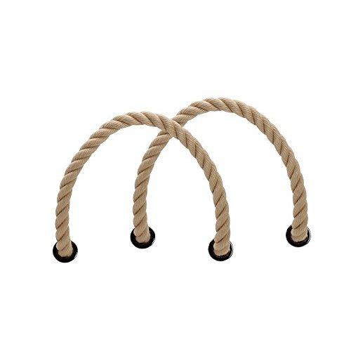 Fullspot O Bag asas de cuerda Rosa (Naturale)