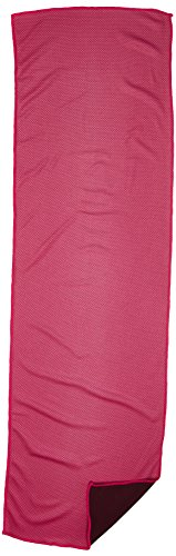 He Cheng Cooling Towel for Sports, Cool Bowling Fitness Yoga Towels, Soft Ice Cold Towel for Men, Running, Hiking, Golf, Yoga, Gym, Stay Cool for Travel Camping Golf, Pink