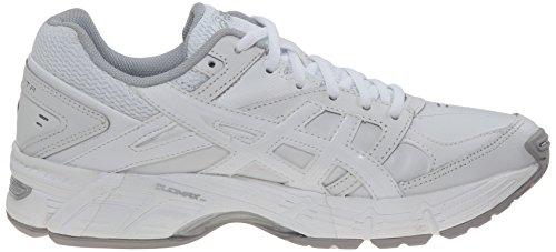Zapato De Entrenamiento Cruzado Gics-190 Tr Para Mujer Asics Blanco / Blanco / Plateado